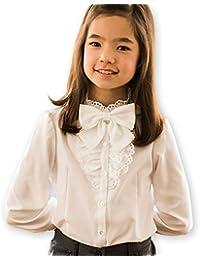 (キャサリンコテージ) Catherine Cottage 子供服 女の子 TK1058 フリルリボン子供フォーマルブラウス