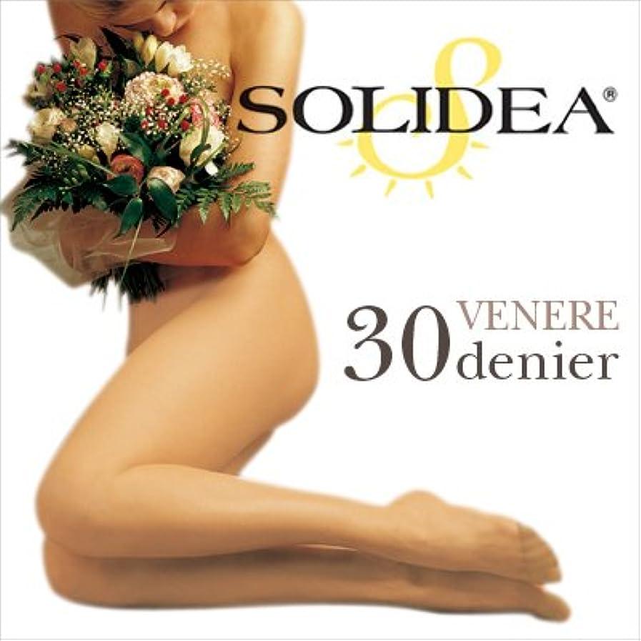 入浴単に緊張するSOLIDEA ソリディア 加圧パンティストッキング VENERE(ベネーレ) 30デニール ブラック S