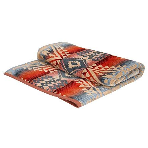 [ ペンドルトン ] Pendleton タオルブランケット オーバーサイズ ジャガード タオル XB233-51151 / XB233-53606 キャニオンランド Oversized Jacquard Towels CANYONLANDS 大判 バスタオル タオルケット インテリア [並行輸入品]