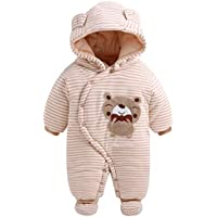 Fairy Baby Infant Baby Boy Girl Outfit Romper Winter Thick Fleece Snowsuit Outwear