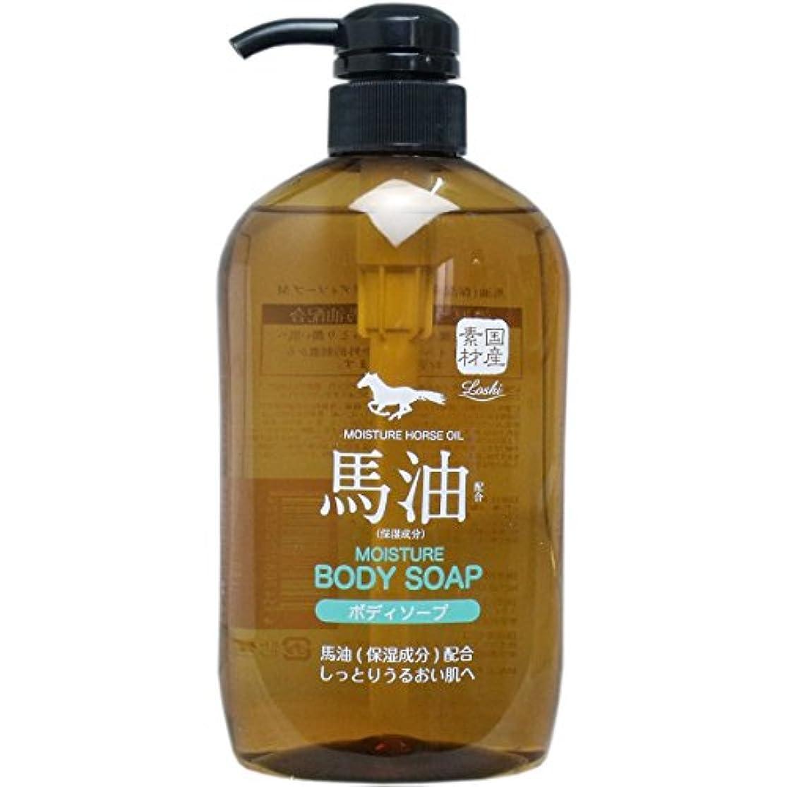 ぴったり敏感な模索馬油(保湿成分)配合 ボディソープ 600ml