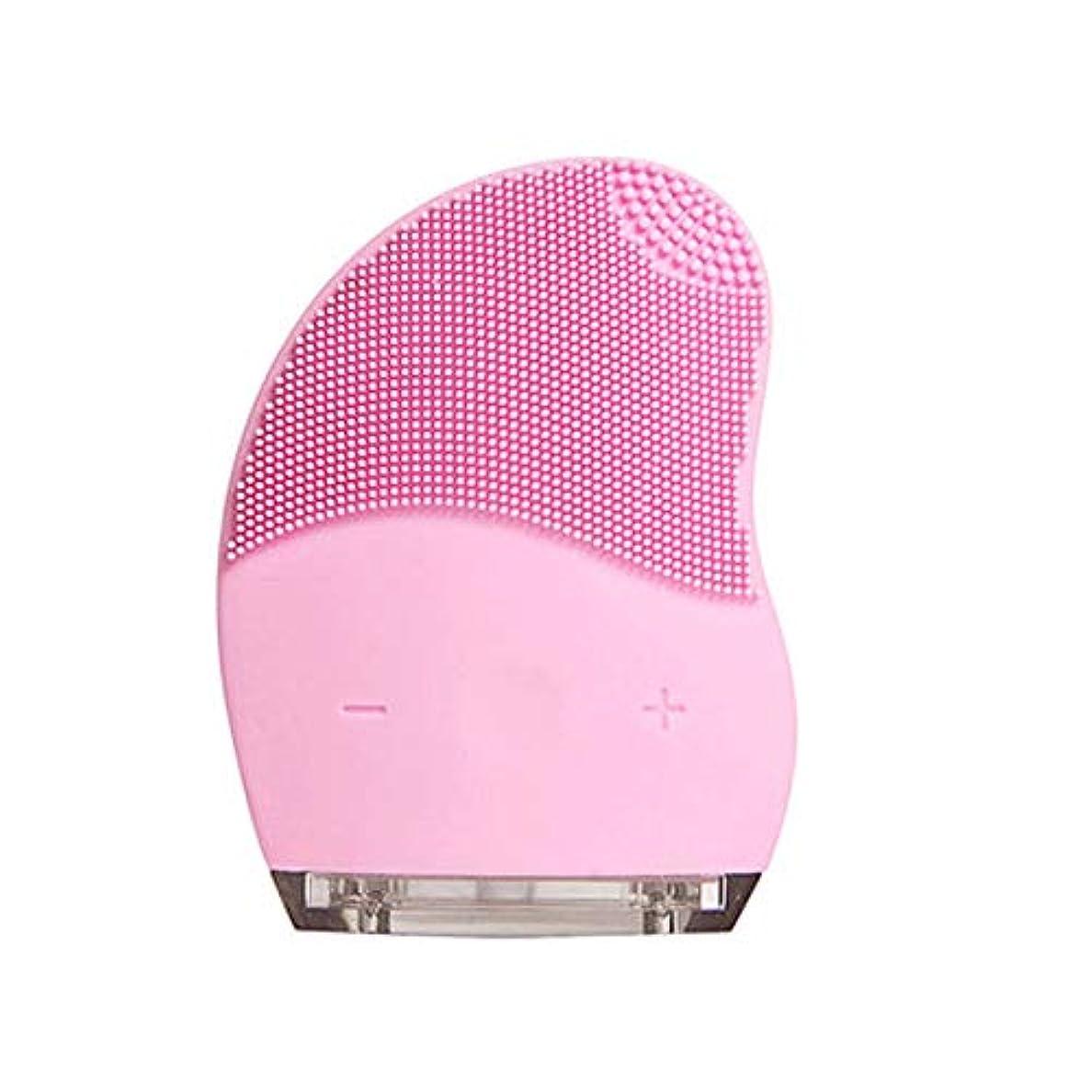 伝統空カウントアップHEHUIHUI- クレンジングブラシ、ディープクレンジングフェイシャル、防水性と振動性のクレンジングブラシ、アンチエイジング、優しい角質除去とマッサージ(ピンク) (Style : A)