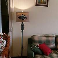 1PCSオフィス照明ヴィラ照明牧歌的な古典的なテーブルランプリビングルームベッドルームのベッドサイドの研究創造的な樹脂の結婚式緑の装飾テーブルライトWL6061703PY (Color : Floor lights)