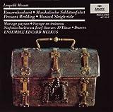 L.モーツァルト:シンフォニア・ニ長調 田舎の結婚式 / シュタルツァー:10の舞曲