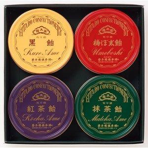 榮太樓飴 4缶入