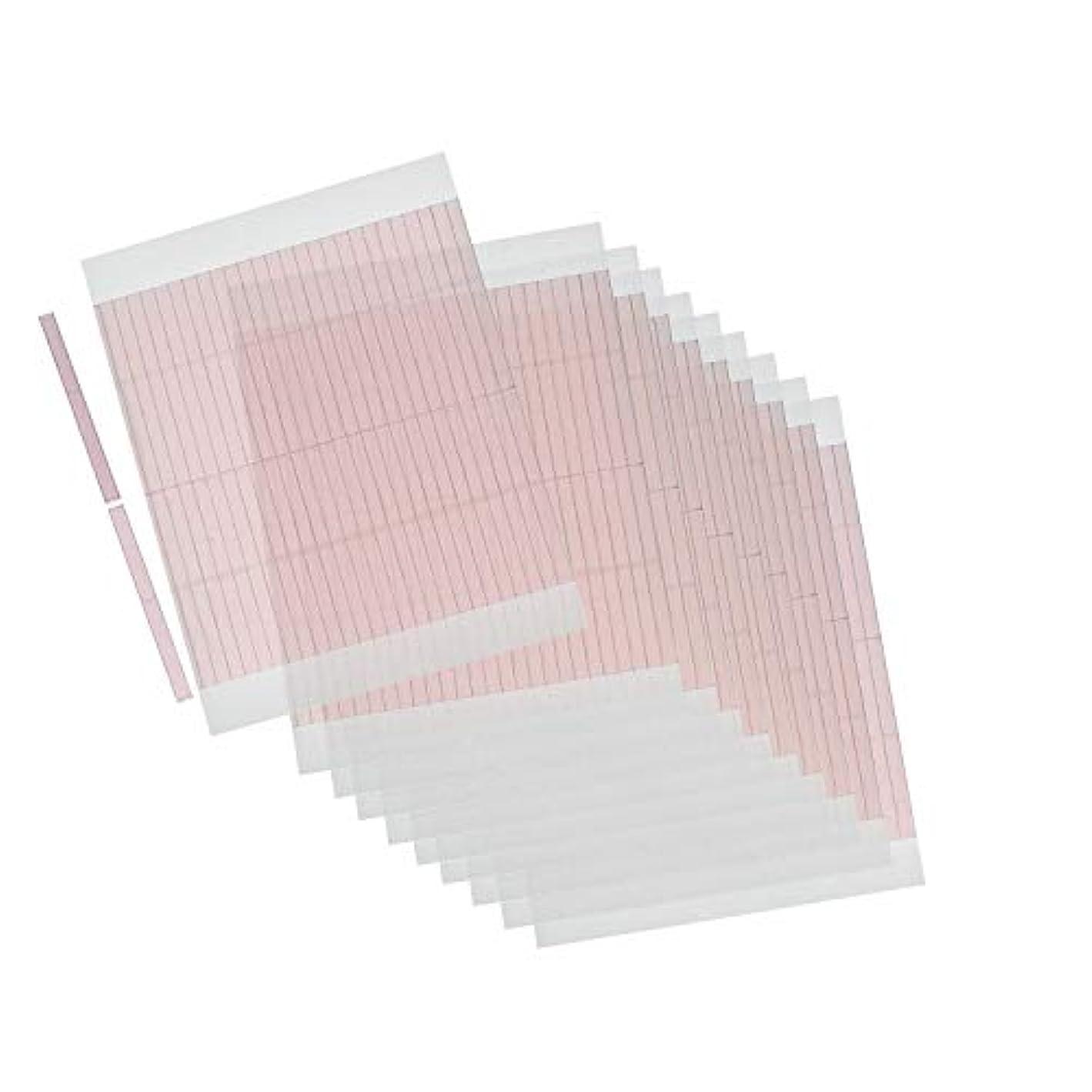 ルアースタイル頻繁にm.tivance アイテープ 二重瞼形成 二重テープ 10シートセット 520本入り/アイテープ10枚セット