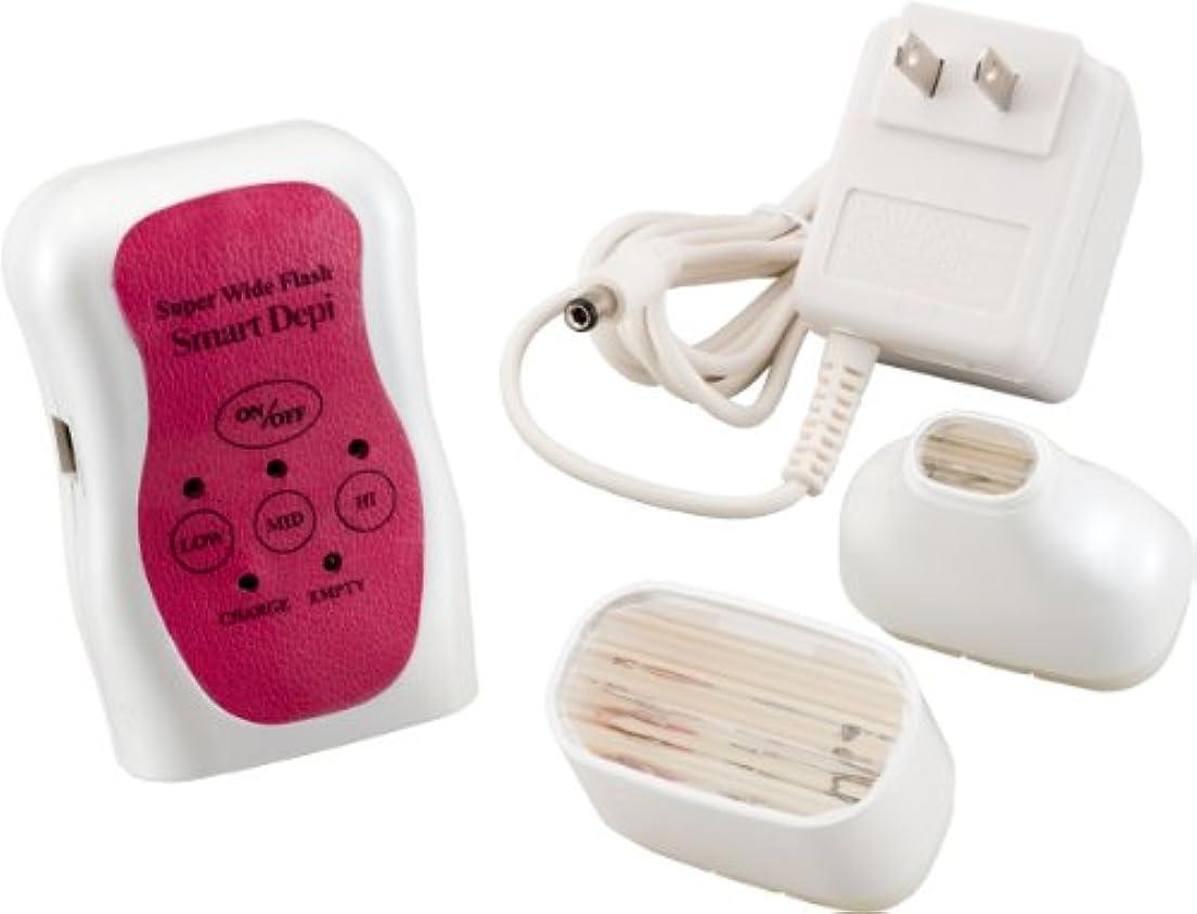 電化するマートあえぎオムニ 脱毛器 スーパーワイドフラッシュスマートデピ YMO-83