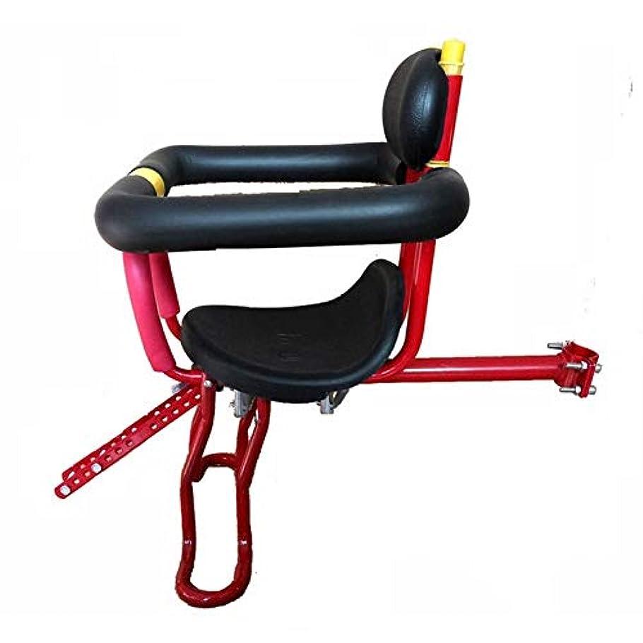 ギャラントリー運河ミシン自転車チャイルドシート自転車安全シート 自転車用アクセサリー (Color : Black)