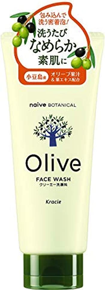 保存する味わう手段ナイーブ ボタニカル クリーミー洗顔料 × 12個セット