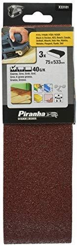 ブラックアンドデッカー サンディングベルト サンダー KA3000用 #40×3枚入り X33181-XJ