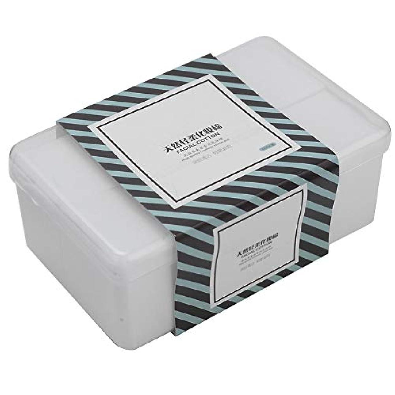 排気鼻強風1000枚 /箱の構造の綿パッドの化粧品は清潔になりますスキンケアを拭きます