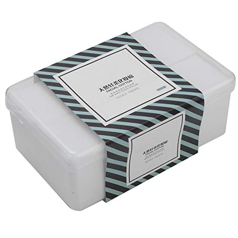 1000枚 /箱の構造の綿パッドの化粧品は清潔になりますスキンケアを拭きます