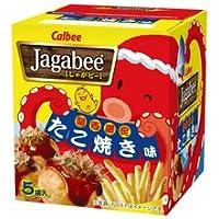 カルビー Jagabee 関西限定たこ焼き味 大阪おみやげ 1箱[18g×5袋]