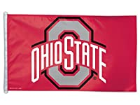NCAA Ohio State University 01909115デラックスフラグ、3' x 5'