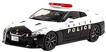 RAI'S 1/43 日産 GT-R (R35) 2018 栃木県警察高速道路交通警察隊車両 完成品