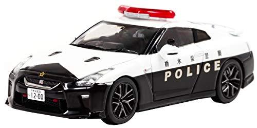 1/43 RAI'S 日産 GT-R (R35) 2018 栃木県警察高速道路交通警察隊車両