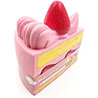 cokate 15 cm三角形ストロベリーケーキスーパーSlow Rising手手首Squeeze Toy