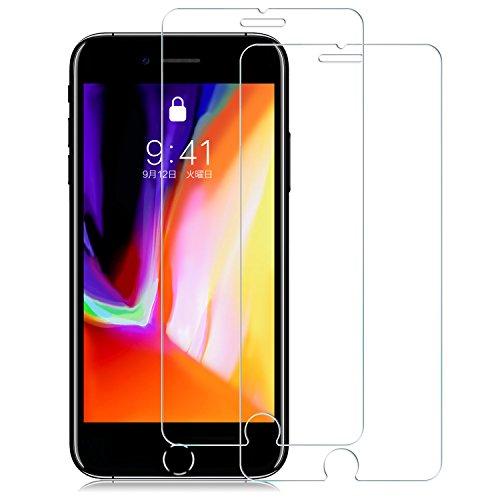 【2枚セット】Nimaso iPhone8 Plus / 7 Plus 用 強化ガラス液晶保護フィルム 【日本製素材旭硝子製】3D Touch対応/業界最高硬度9H/透過率99.9% ( iPhone 8 Plus / 7 Plus , 2枚セット )