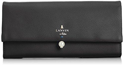 [ランバンオンブルー] LANVIN en Bleu シャペル フラップ長財布 480720 10 (ブラック)