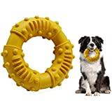 Hahago Dog Chew Toy with Non-Toxic Natural Rubber Smell Like Beef - Texture Nub Dog Toys for All Aggressive Chewers Large Dog