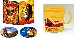 【Amazon.co.jp限定】ライオン・キング 4K UHD MovieNEX スチールブック(オリジナルマグカップ付き) [4K ULTRA HD+ブルーレイ+デジタルコピー+MovieNEXワールド] [Blu-ray]