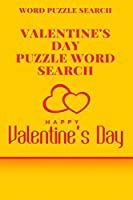 Word puzzle Search Valentine's Day puzzle Word Search Happy Valentine's Day