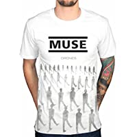 AWDIP Official Muse Drones T-Shirt Band Absolution Rock 2nd Law Origin Symmetry