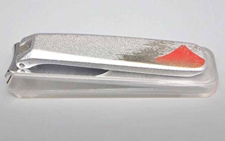 出力観察穏やかな高級 加賀蒔絵 爪きり  日本製 岐阜県関産 銀 赤富士 紅富士