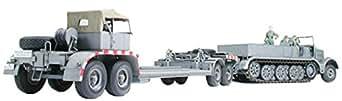 タミヤ 1/35 ミリタリーミニチュアシリーズ No.246 ドイツ陸軍 18トン重ハーフトラックトラック 戦車運搬車 プラモデル 35246
