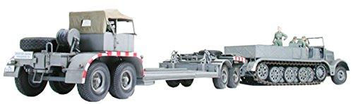 1/35 ミリタリーミニチュアシリーズ 18t重ハーフトラック戦車運搬車