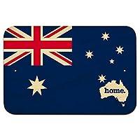 """オーストラリア本国 9"""""""" x 6"""""""" 木材符号 - 旗"""