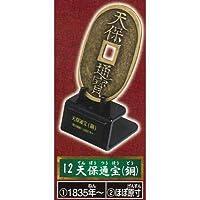 古銭コレクション MUSEUM 02 [12.天保通宝(銅)](単品)
