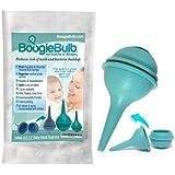 BoogieBulb Baby Nasal Aspirator and Booger Sucker for Smaller Newborns and Preemies - Cleanable and Reusable Baby Nasal Aspir