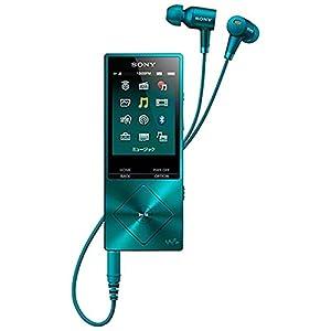 SONY ウォークマン A20シリーズ  32GB ハイレゾ音源対応 ノイズキャンセリング機能搭載イヤホン付属 2015年モデル ビリジアンブルー NW-A26HN LM