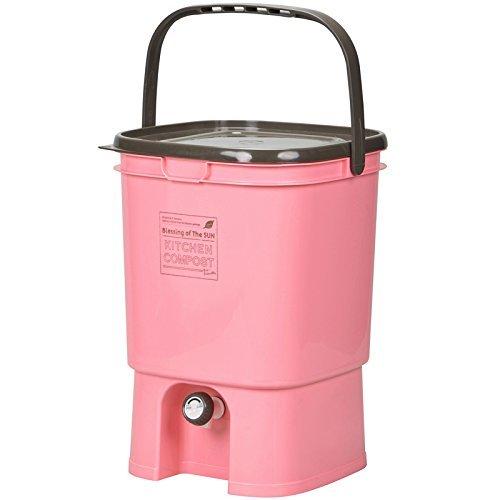 伸和 家庭用 生ゴミ処理器 キッチンコンポスト ピンク
