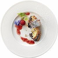 乳白 リベラ 20cm ケーキ & デザート皿