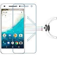 【 Bean world 】● SHARP Android One S1 ブルーライトカットフィルム 液晶保護防爆フィルム シャープ SIMフリー スマートフォン android one s1 ( アンドロイド ワン エスイチ ) 5.0インチ ブルーライト カット 約33% 透過率 98% 厚さ 0.15MM 強度 3H 高透過率 防爆 耐衝撃 自動吸着 液晶保護シート 防爆フィルム スマートフォン 透明 光沢 タイプ 衝撃吸収 おすすめ pet 貼り方 反射 防止 スマホ 液晶 保護 透明 シート sheet フィルム film 保護シール プロテクターprotector 携帯 画面 スクリーン ガード タブレット 保護ガラス タッチパネル 保護フィルム マット