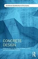 Concrete Design (Architect's Guidebooks to Structures)