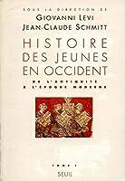 Histoire des jeunes en occident t.1