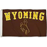 NCAAワイオミングカウボーイズ旗グロメット、3 ' x 5 '、ブラウン
