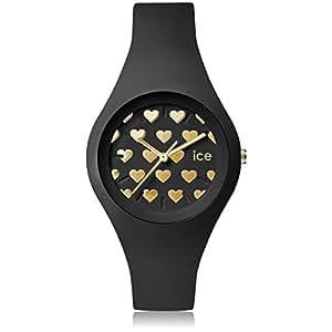 [アイスウォッチ]ICE-WATCH 腕時計 アイスラブ2016 ICE love2016 ブラックハート スモール LO.BK.HE.S.S.16 [正規輸入品]
