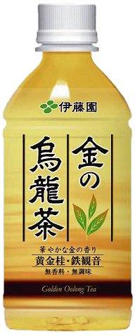 伊藤園 金の烏龍茶(350mL*24本入)