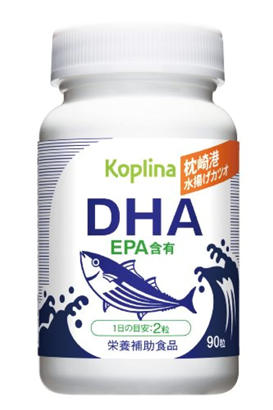 悪質な覗く歴史的新品 枕崎港水揚げカツオDHA(EPA含有)90粒 1個
