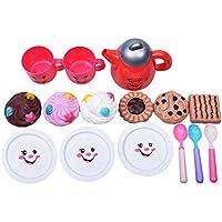RaiFu ままごと おもちゃ フェイスティー ポットセット キッズ キッチン 教育おもちゃ 笑顔 子供 クラシックトイ ハウス おもちゃ 22PCS /セット