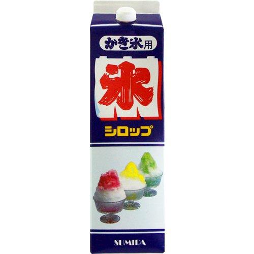 スミダ かき氷 抹茶 パック 1.8L