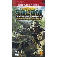 SOCOM U.S. NAVY SEALS FIRETEAM BRAVO (PSP 輸入版 北米)日本版PSP動作可