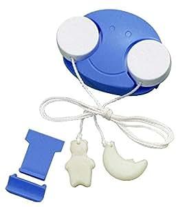 スマイルキッズ こども用 電気スイッチ こどもスイッチ ブルー/ホワイト ACS-01