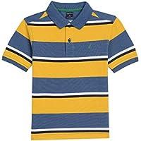 Nautica Boys Short Sleeve Stripe Polo Polo Shirt