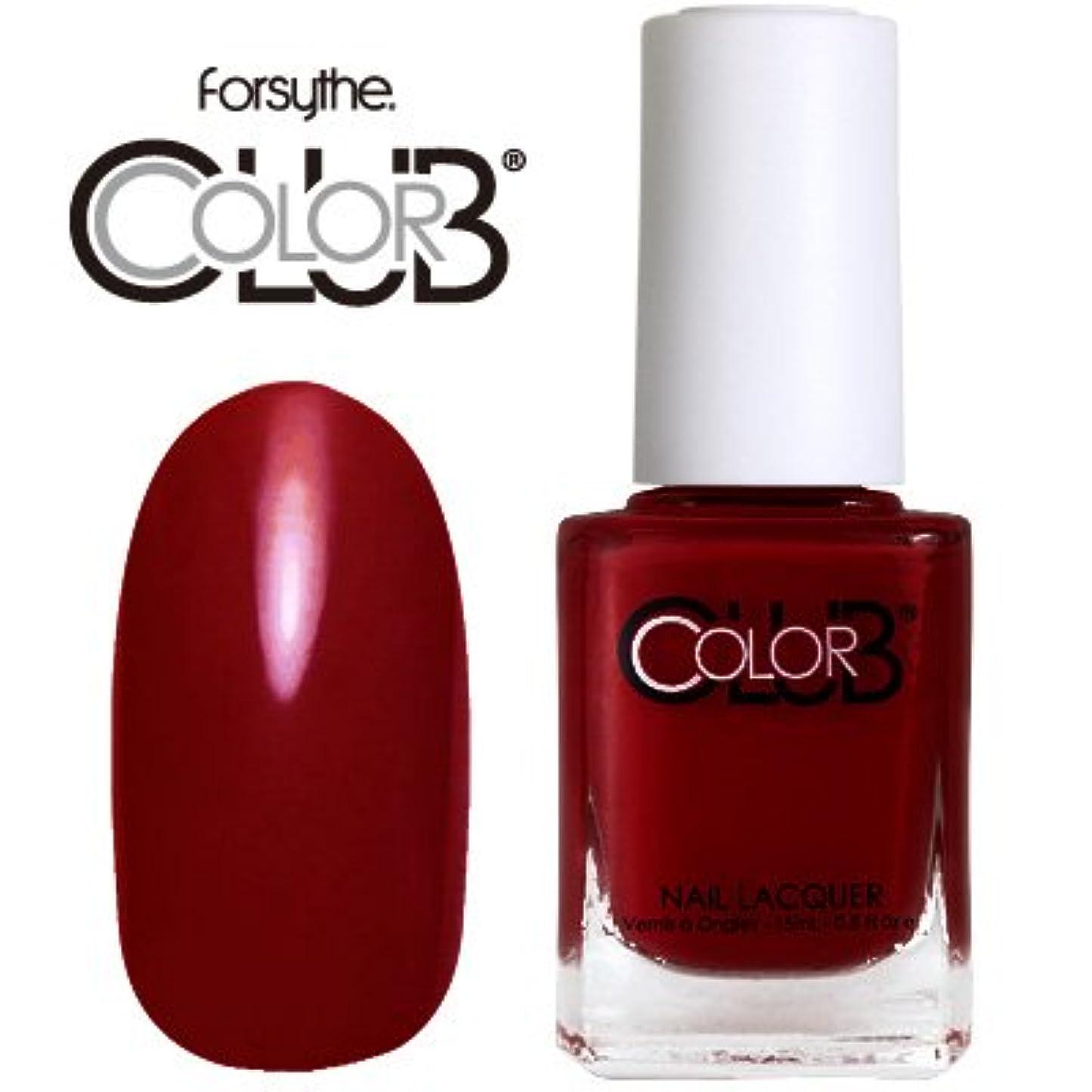 組立リサイクルするムスフォーサイス カラークラブ 920/Red-ical Gypsy 【forsythe COLOR CLUB】【ネイルラッカー】【マニキュア】