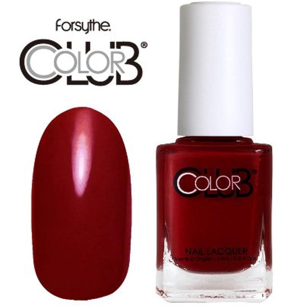 ページフォロー偽装するフォーサイス カラークラブ 920/Red-ical Gypsy 【forsythe COLOR CLUB】【ネイルラッカー】【マニキュア】